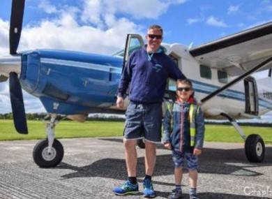 Kacper Kacprzak and English pilot Niall Bowditch.