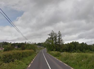 N14 road in Donegal