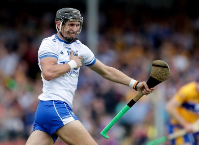 Maurice Shanahan celebrates after scoring a goal against Clare in the 2018 Munster SHC.