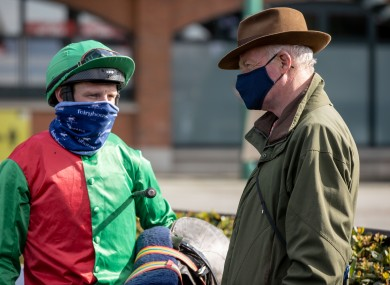 Paul Townend and Willie Mullins.