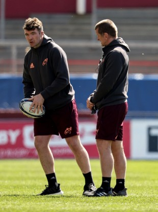 O'Mahony missed the defeat to Toulouse as he recovered from his leg injury.