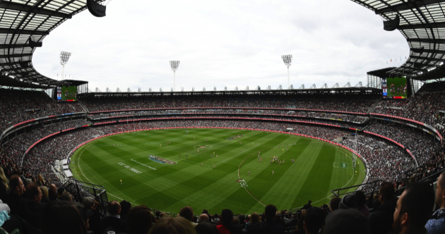 AFL match attracts 'world record' pandemic crowd of over 78,000