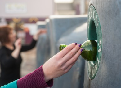 File photo of a bottle bank