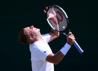 Dan Evans stunned Novak Djokovic at the Monte Carlo Masters.