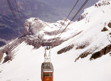 File photo of a cable car