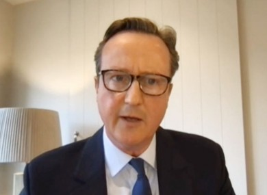 David Cameron addressed a House of Commons committee earlier today.