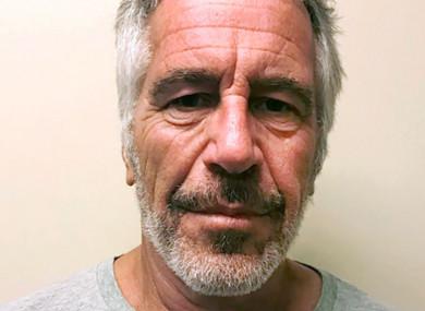 Jeffrey Epstein (file photo)