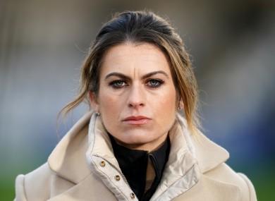 BT Sport pundit Karen Carney (file pic).