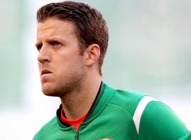Colin Doyle has four Ireland caps.
