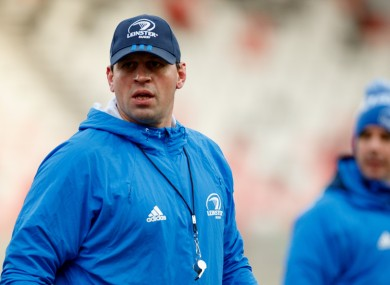 Leamy will be the defence coach for Ireland's U20 Six Nations campaign.