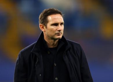 Frank Lampard (file pic).
