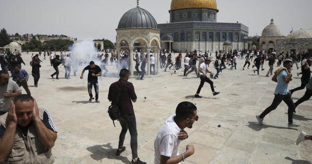 Fresh clashes break out in Jerusalem, as Israel-Hamas ceasefire holds