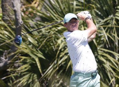 Rory McIlroy in action at Kiawah Island.