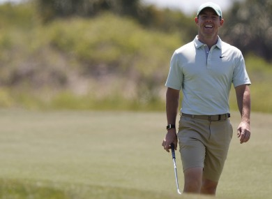 McIlroy is targeting a fifth Major at Kiawah Island this weekend.