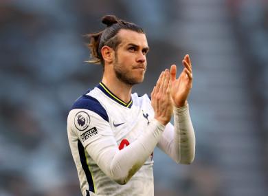 Tottenham Hotspur's Gareth Bale (file pic).
