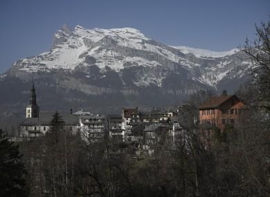 Alps in the Haute-Savoie region of France