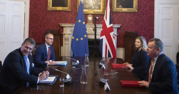 Patience 'very thin' as EU threatens retaliation over Northern Ireland Protocol