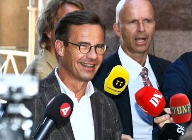 Ulf Kristersson.