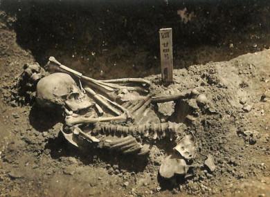Original excavation photograph of Tsukumo No. 24