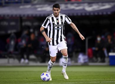 Alvaro Morata (file pic).