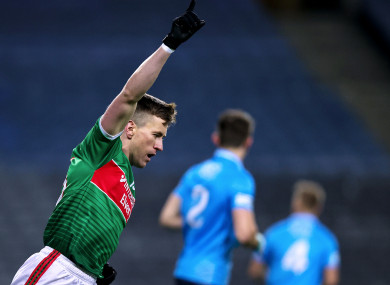Cillian O'Connor pictured in last year's All-Ireland final.
