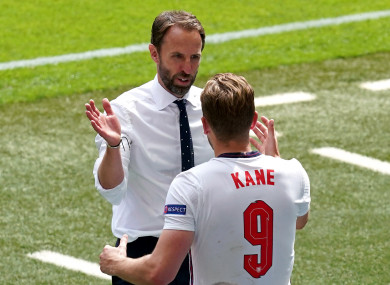 Gareth Southgate has confirmed Harry Kane will start against the Czech Republic.