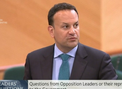 """Sinn Fein's Eoin O Broin said Varadkar's legacy is a country of  """"sky-high rents"""" and """"spiralling high prices""""."""