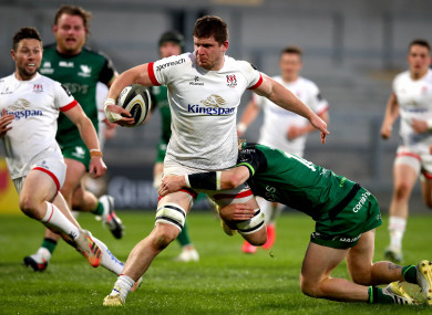 Nick Timoney has found form for Ulster.