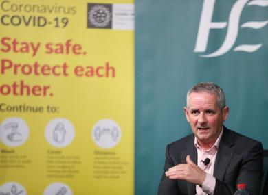 HSE CEO, Paul Reid