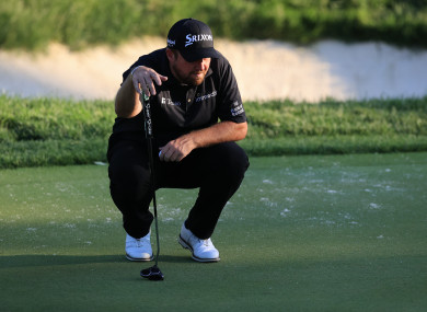 Lowry can boost his Ryder Cup chances with another strong weekend.