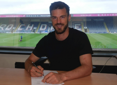 Jimmy Keohane is staying at Rochdale.