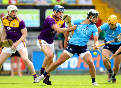 Shane Reck and Cian Boland of Dublin