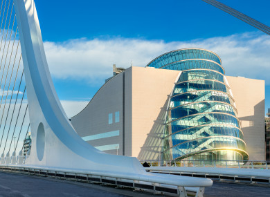 The Convention Centre in Dublin