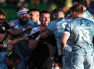 Tempers flared on several occasions last night in Glasgow.
