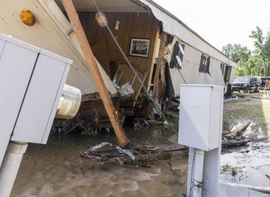 The tropical depression, that claimed 13 lives in Alabama, caused flash floods and  tornadoes that destroyed dozens of homes.