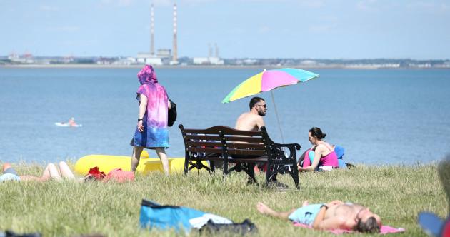 Status Yellow and Status Orange high temperature warnings take effect across Ireland