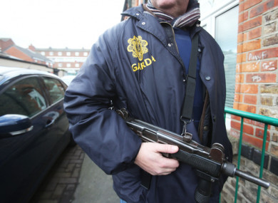 A garda detective on duty during the Hutch/Kinahan feud.