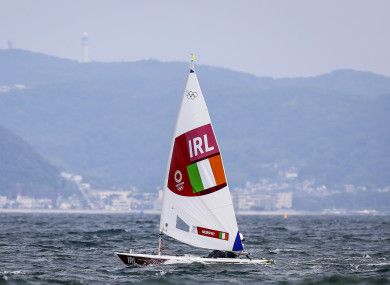 Ireland's Annalise Murphy during Race 3 (file pic).