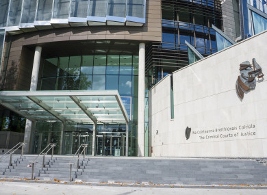 Aaron McDonagh was sentenced today at the Central Criminal Court.