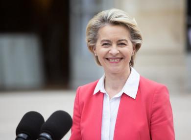 European Commission President Ursula Von der Leyen, file photo.