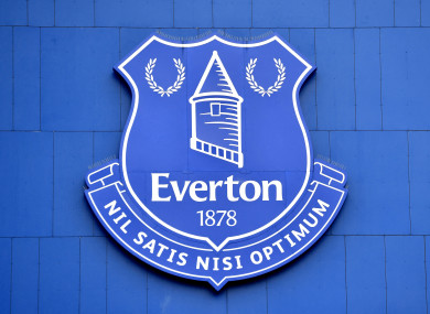 Everton have suspended a first-team player.