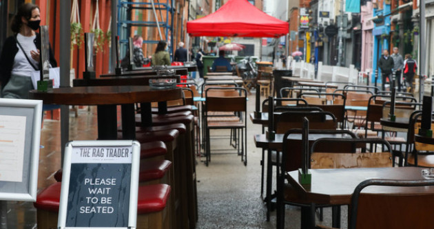 'There is a short window to get this done': Talks on the reopening of indoor dining set to resume today