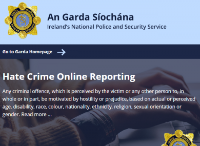 The reporting system was launched earlier today.