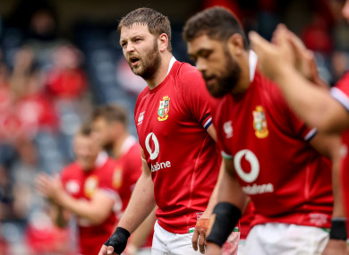 Henderson will captain the Lions on Wednesday.