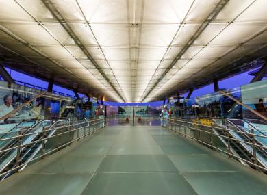 Malaga Airport Spain.