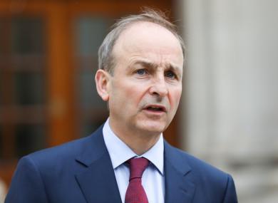 Micheal Martin's leadership of Fianna Fáil is under the microscope.
