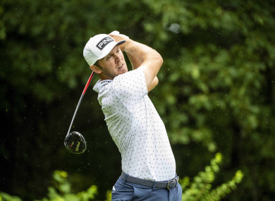 Seamus Power during today's final round.