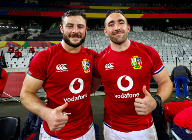 Ireland's Robbie Henshaw and Jack Conan will hope for the nod.