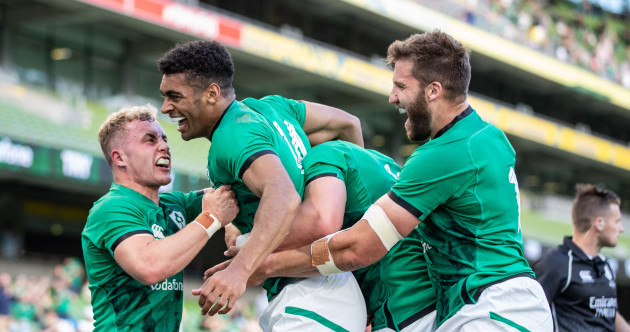 As it happened: Ireland v US Eagles, Summer Series