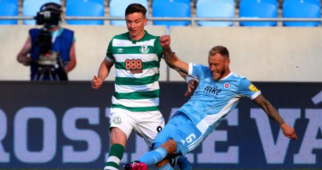 As it happened: Slovan Bratislava v Shamrock Rovers, Champions League qualifying